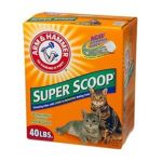 Arm & Hammer -  Super Scoop Baking Soda Clumping Litter 40 lb 0033200024002