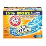 Arm & Hammer - Powder Laundry Fresh Scent Plus Oxiclean Detergent 42 Loads 3.47 Pounds 3.47 lb,1.58 kg 0033200065258  / UPC 033200065258
