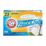 Arm & Hammer -  Fabric Softener Sheets 100 sheets 0033200140702