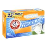 Arm & Hammer -  Fabric Softener Sheets Fresh Burst 0033200147732