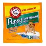 Arm & Hammer - Puppy Housebreaking Pads 10 pads 0033200450108  / UPC 033200450108