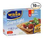 Wasa -  Crispbread Crisp'n Light Mild Rye 0033617000033