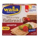 Wasa -  All Natural Flatbread Sesame 0033617000071
