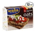 Wasa -  Crispbread Oats 0033617007001