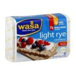 Wasa -  Crispbread Light Rye 0033617322616
