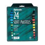 Alvin -  Qt102001 Landscape Pastels Set-24 0034138020111