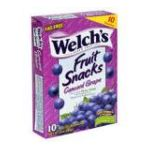 Welch's -  Fruit Snacks Concord Grape 0034856028802