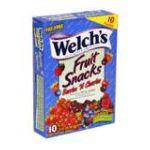 Welch's -  Fruit Snacks Berries 'n Cherries 0034856028826