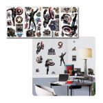 York Wallcoverings -  Captain America Movie Peel & Stick Wall Decals 0034878092751