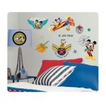 York Wallcoverings -  Mickey Mouse & Friends Clubhouse Pilot Wall Decals 0034878128689