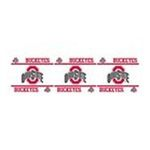York Wallcoverings -  nEw NCAA OHIO STATE BUCKEYES Football Decor WALL BORDER 0034878218182