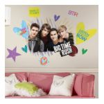 York Wallcoverings -  Big Time Rush Peel &and Stick Giant Wall Decal 0034878776842