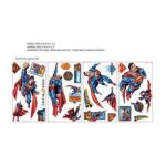 York Wallcoverings -  Superman Peel And Stick Wall Sticker 0034878858432