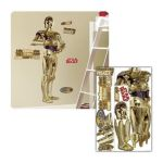 York Wallcoverings -  Star Wars Classic C-3po Peel And Stick Giant Wall Applique 0034878937755