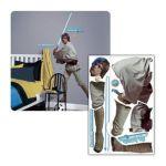 York Wallcoverings -  Star Wars Classic Luke Skywalker Peel & Stick Giant Applique 0034878937786