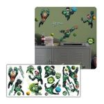 York Wallcoverings -  Green Lantern Peel And Stick Wall Applique 0034878978758