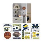 York Wallcoverings -  Michigan Wolverines Peel And Stick Wall Decal 0034878979021