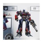 York Wallcoverings -  Transformers Optimus Prime Giant Peel And Stick Wall Decal 0034878987095