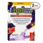 WindMill -  Nutritionworks Acai 14 Stick Packets Per Pack Antioxidant Energizing Drink Mix Berry Flavor 14 packets 0035046070687