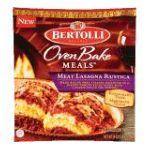 Bertolli - Meat Lasagna Rustica 0036200007037  / UPC 036200007037