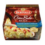 Bertolli - Roasted Chicken Cannelloni 0036200061343  / UPC 036200061343