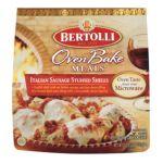 Bertolli - Italian Sausage Stuffed Shells 0036200061367  / UPC 036200061367