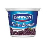 Dannon -  Fruit On The Bottom Boysenberry Yogurt 0036632001092