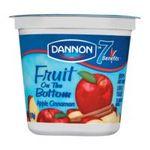 Dannon -  Lowfat Yogurt Apple Cinnamon 0036632001108