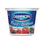 Dannon -  Fruit On The Bottom Mixed Berries Yogurt 0036632001160