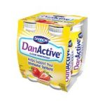 Dannon -  Danactive Dairy Drink Probiotic Strawberry 0036632025036