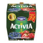 Dannon -  Blueberry & Strawberry Lowfat Yogurt 0036632026057