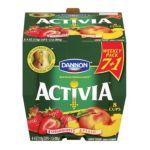 Dannon -  Strawberry & Peach Lowfat Yogurt 0036632026064