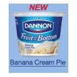 Dannon -  Fruit On The Bottom Banana Cream Pie 0036632027290
