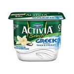 Activia - Dannon Selects Vanilla Greek Yogurt 0036632027955  / UPC 036632027955