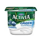 Activia - Selects Thick & Creamy Blueberry Nonfat Greek Yogurt 0036632027986  / UPC 036632027986