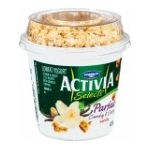 Activia - Dannon Selects Parfait Crunchy & Creamy Vanilla Nonfat Yogurt 0036632032096  / UPC 036632032096