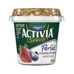 Activia - Dannon Selects Parfait Cruncy & Creamy Mixed Berry Nonfat Yogurt 0036632032119  / UPC 036632032119