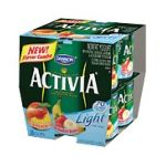Dannon -  Strawberry-banana & Peach Light Fat Free Yogurt 0036632035943