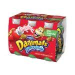 Dannon -  Danimals Smoothies Strikin' Strawberry Kiwi Yogurt 0036632036421