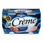 Dannon -  Yogurt Incredibly Creamy Strawberry Flavored 0036632045010