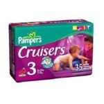 Pampers - Cruisers Size 3 16 Jumbo Pack 35 28 lb 0037000063964  / UPC 037000063964