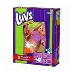 Luvs - Luvs Mega Pack Newborn 4 To 62 Ea 10 lb 0037000105145  / UPC 037000105145