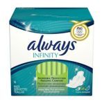 Always - Infinity Heavy Flow Pads With Revolutionary Wings 16 Pads 16 pads 0037000117148  / UPC 037000117148