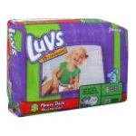 Luvs - Diapers 35 lb, 60 diapers 0037000117254  / UPC 037000117254