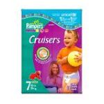 Pampers - Cruisers Diapers Size 7 18 diapers 0037000119104  / UPC 037000119104