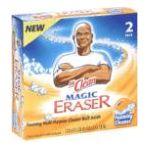 Mr. Clean - Magic Eraser 2 pack 0037000125341  / UPC 037000125341