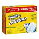 Swiffer - Swiffer Disposable Cleaning Dusters Refills, Unscented, 16-Count (Packaging May Vary) 0037000130710  / UPC 037000130710