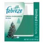 Febreze - Candle 0037000131441  / UPC 037000131441
