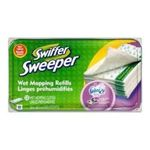 Swiffer - Swiffer Sweeper Wet Mopping Cloths, Mop and Broom Floor Cleaner Refills, Febreze Lavender Vanilla & Comfort Scent, 12-Count (Packaging May Vary) 0037000158455  / UPC 037000158455