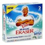 Mr. Clean - Magic Eraser 2 pads 0037000166504  / UPC 037000166504